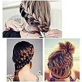 Stayeal Schwarz Haarclip Einfache Haarspange Flecht-Wunder Haarklammer 1 St¨¹ck