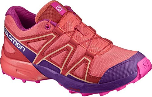 Salomon Speedcross Junior Scarpe Da Trail Corsa - AW17 Pink