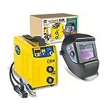 Aktionsset GYSMI E160 Inverter Schweißgerät + Automatikhelm 9-13 im Karton + Schweiß-CD