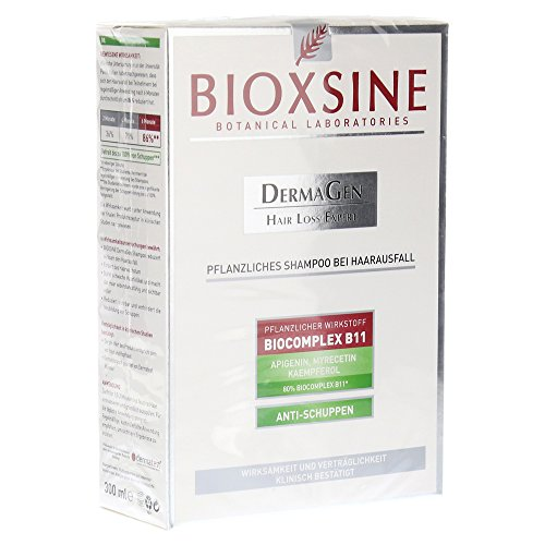 Bioxsine Pflanzliches Shampoo gegen Haarausfall Anti-Schuppen 300 ml -