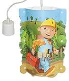 Unbekannt Deckenlampe Bob der Baumeister Hängelampe für Kinder Kinderzimmer Kinderlampe Leuchte Jungen Mixi