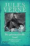 Die geheimnisvolle Insel: Alle drei Bände, mit den Illustrationen der Originalausgabe - Jules Verne