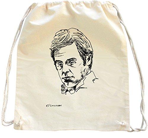 Mister Merchandise Zaino Borsa Sacco Ronnie O`Sullivan O Sullivan , Colore: Naturale
