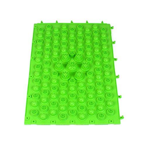 Tappeto da bagno antiscivolo tappetino per doccia e pavimento verde Rosenice