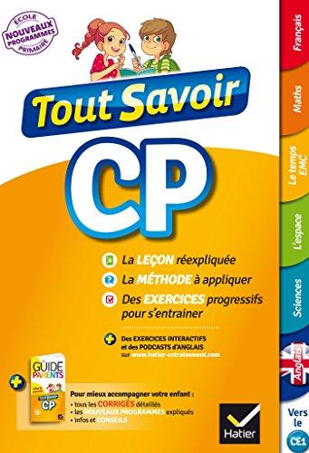 Tout Savoir CP - Nouveau programme 2016
