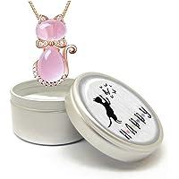 CraftDe (4 modelli) - Collana con ciondolo 40 + 5 cm, con confezione regalo