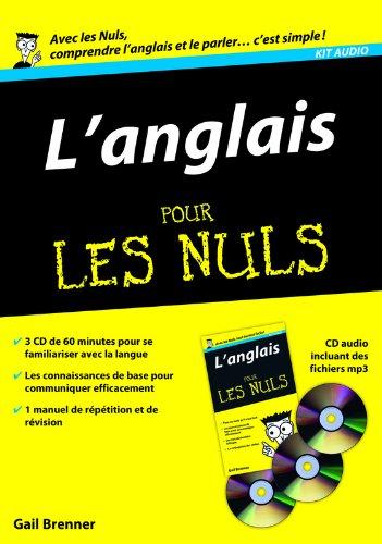 Kit audio Anglais pour les Nuls