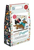 Crafty Kit Company Felt Puppies Sewing Kit for Children by The