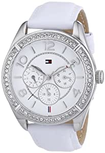 Tommy Hilfiger Damen-Armbanduhr Sport Luxury Analog Quarz Leder 1781249