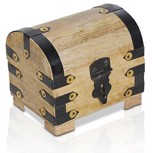Brynnberg Caja de Madera Modelo: Lady Juliet pequeño  Cofre del Tesor