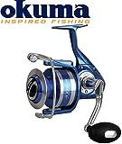 Okuma Azores S-4000 Rolle - 300m 0,25mm Schnurfassung, Spinnrolle, Angelrolle zum Spinnfischen & Meeresangeln, Meeresrolle, Salzwasserrolle, Pilkrolle, Rollen zum Meeresfischen