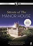 Secrets Of The Manor House DVD Set - Contains Secrets Of Highclere Castle,The Set Of Downton Abbey (4-Disc) [DVD] [Import anglais]