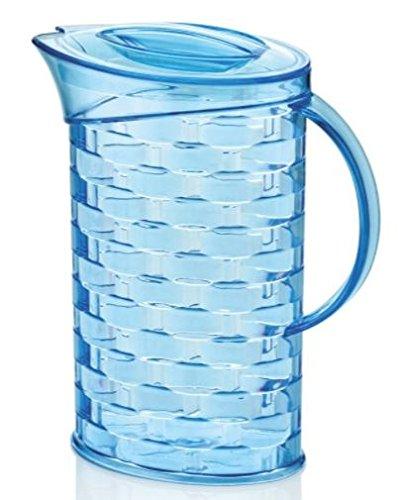 2x 2Liter Mehrzweck BBQ Picknick Wasser Saft Krug Krug mit Deckel - blau Bar Krug