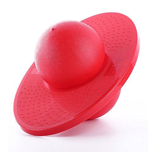 Erwachsenes springendes Ball-explosionssicheres starkes haltbares und haltbares, der Gesamtgewichtsverlust-Körper Sculpting Körper, stoßfestes und kalt-beständiges rutschfestes Design ( Farbe : Rot )