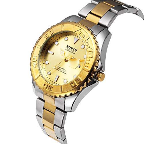 DAZHE Militäruhren Quarz Armbanduhren, Männer Paare Sport Frauen Marken Schweizer High-End-kreative Kinder koreanische elektronische Uhren (Color : 2)