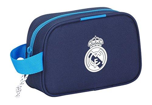 Safta 311278 Real Madrid 3 Neceser, Color Azul Marino