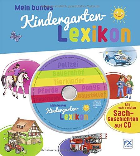 Preisvergleich Produktbild Mein buntes Kindergartenlexikon mit CD