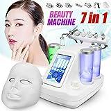 Guoz 7 en 1 Hydra dermoabrasión de Aqua Clean Peel Bio RF Luz Facial máquinas de Belleza
