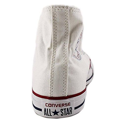 Converse Chuck Taylor All Star Hi Toile Baskets White-Red-Blue