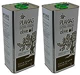 2x 5 L Olivenöl extra nativ virgin aus Plakias Kreta Kanister Oliven Öl aus dem Süden Kretas Griechenland Koroneiki 10 L