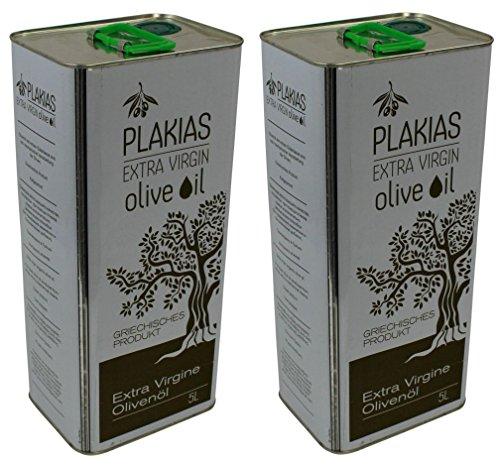 Preisvergleich Produktbild 2x 5 L Olivenöl extra nativ virgin aus Plakias Kreta Kanister Oliven Öl aus dem Süden Kretas Griechenland Koroneiki 10 L