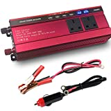 LVYUAN 1000W/2000W Peak Power Inverter DC 12V to 230V 240V AC Car Converter