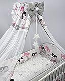 Chiffon-Baldachin für Babywiege/Kinderbett
