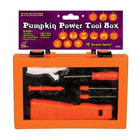 Die perfekte Kürbis Power Tool Box