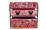 Disney Minnie Mouse Kinderregal aus Metall mit Aufbewahrungsboxen