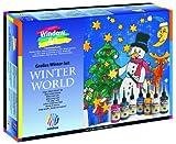 Nerchau 218707 - Window Art 7-er Set Winter World, 7 x 80 ml