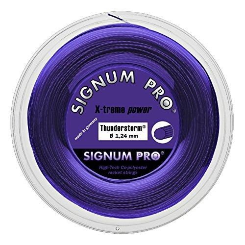 Signum Saitenrolle Thunderstorm, Violett, 120 m, 0255180242700009 Preisvergleich