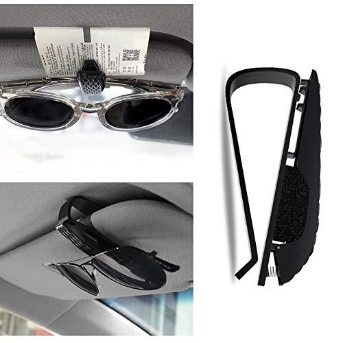 Beesuya Car Sunglass Holder Premium Visor Eyeglass Clip Auto Sunglasses Holder Clip for Cars Vehicles Sun Visor Cute