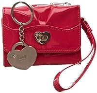 Storm Women's Purse & Keyring Gift Set Pink Black - Royal