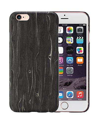 pitaka Legna Custodia iPhone 6 Plus/iPhone 6s Plus Cover con Schermo Protettivo, Black Ice 5.5 Pollici Caso Ultra Sottile 1 mm