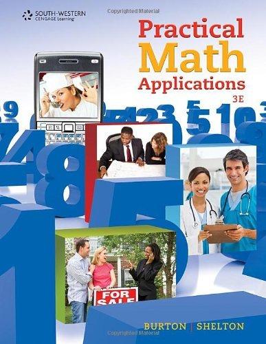 Practical Math Applications by Sharon Burton (2010-08-31)