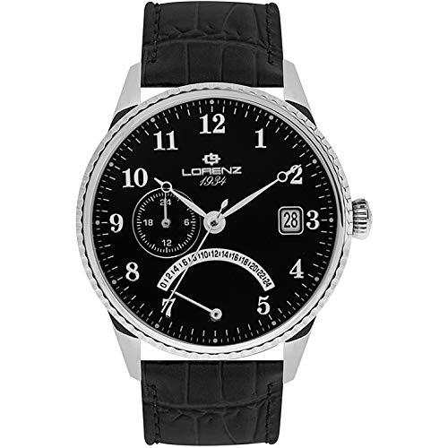 orologio solo tempo uomo Lorenz 1934 trendy cod. 030103BB
