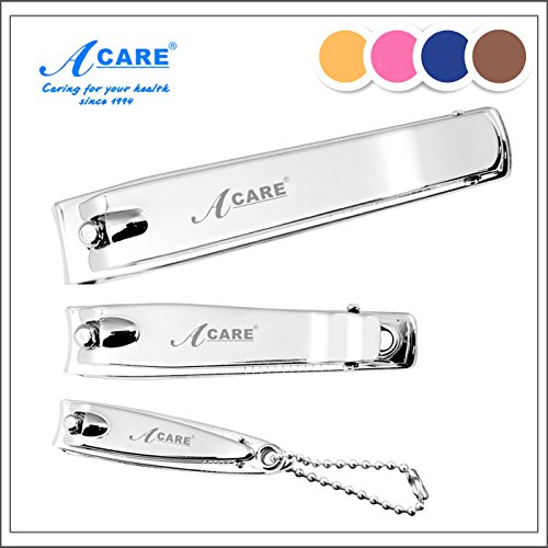 Generic 3x ACARE Nail Trimmer Nail Clippers Nail Art Care Tools Toenail Scissors Cutter (1x Big+1x Middle+1x Small)