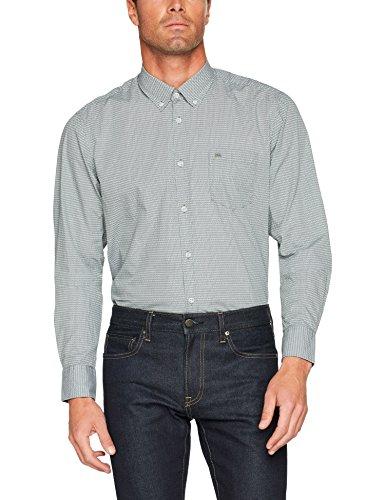 LERROS Herren Freizeithemd Hemd Grün (Reed Green 661)