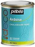 Pebeo - Pintura efecto pizarra (250 ml), color azul