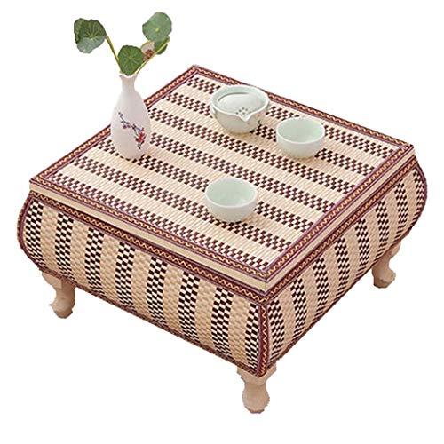 Couchtisch Runden Tisch Fensterbank Tisch Tatami Couchtisch Student Studie Tisch Wohnzimmer Tisch Bett Studie Tisch (Color : Beige, Size : 43 * 43 * 30cm) (Runde Studenten Studie Tisch Für)