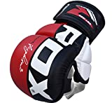 RDX MMA Handschuhe UFC Kampfsport Sparring Freefight Sandsack Trainingshandschuhe Grappling Gloves