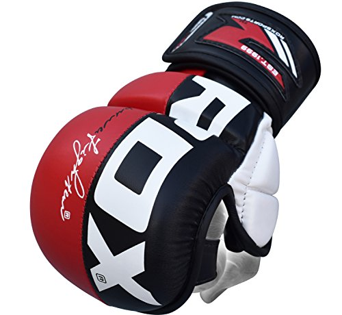 RDX MMA Handschuhe UFC Kampfsport Sparring Freefight Sandsack Trainingshandschuhe Grappling Gloves