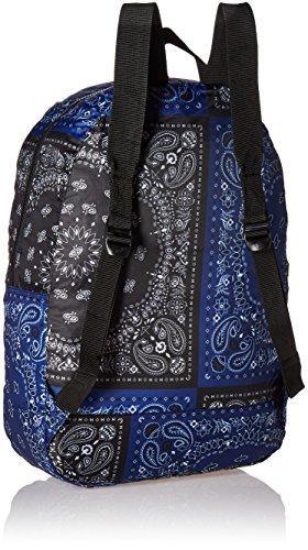 Herschel 10011-00001  Pop Quiz Backpack Rucksack, 1 Liter, Schwarz/Tan Blau|Schwarz|mehrfarbig