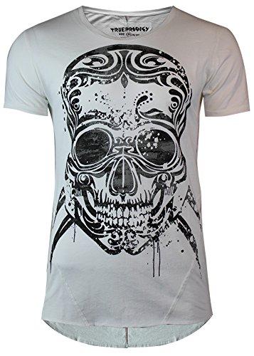trueprodigy Herren Oberteile/T-Shirt Photoprint Offwhite