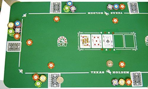 Poker Matte Studson 125x60 Neopren pokerauflage