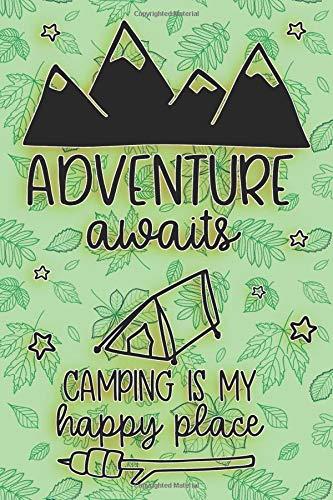 Adventure Awaits: Wide Ruled Camping Composition Book & Journal por B L Redmond