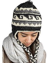 Amazon.es  gorro orejeras - Gorros de punto   Sombreros y gorras  Ropa 9dd51a1d966