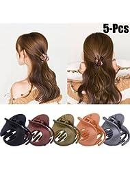 Klaue Clips, Zoylink 5 STÜCKE Haarspangen Haargreifer Vintage Einfache Unregelmäßige Rutschfeste Haarnadel Haar Zubehör Für Frauen