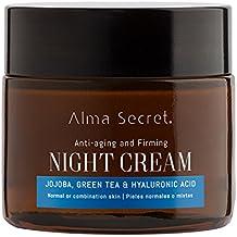 Alma Secret Multi-reparadora Noche Antiedad con Jojoba, Té Verde & Hialurónico - 50