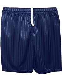 1bf089f24 MyShoeStore Unisex PE Shorts Boys Girls Kids Children Adults Back to School  Uniform Shadow Stripe Sports Gym Football Games P.E. Pull up…